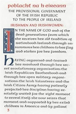 The Easter Proclamation of The Irish Republic 1916